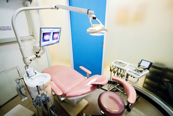 Dental Chair with LCD